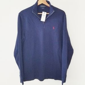 Polo Ralph Lauren new with tags zip pullover